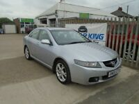 HONDA ACCORD 2.2 i CTDi Executive 4dr (silver) 2005