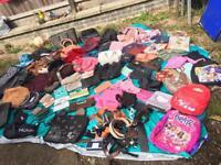 Joblot ladies bags & belts around 60 handbag & around 15 belts used good £25
