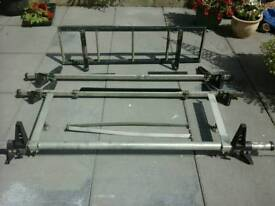 Rhino roof bars and ladder