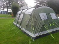 Excellent tent with a lot of camping gear