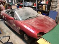 MGF ��� Unfinished Project - 1998 MG MGF 1.8I VVC RED