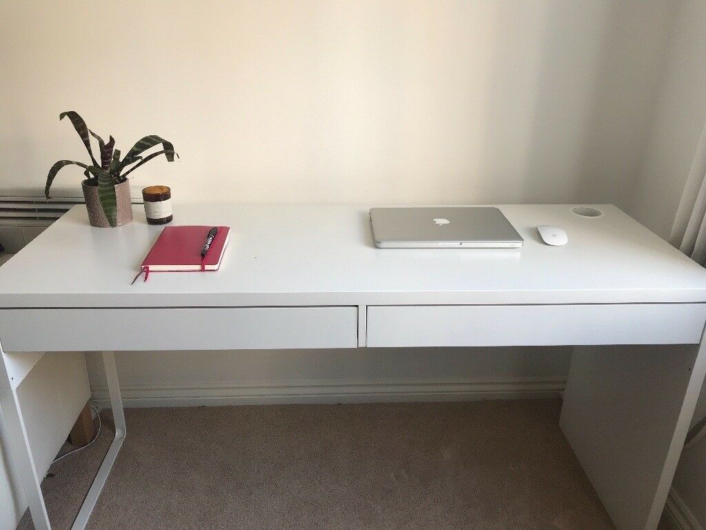 Ikea Micke Desk 2 Drawers