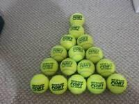 16 fort dunlop tennis ball