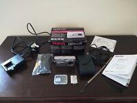 Silver Pentax OPTIO L50 8.0MP Digital Camera with Box and Accessories