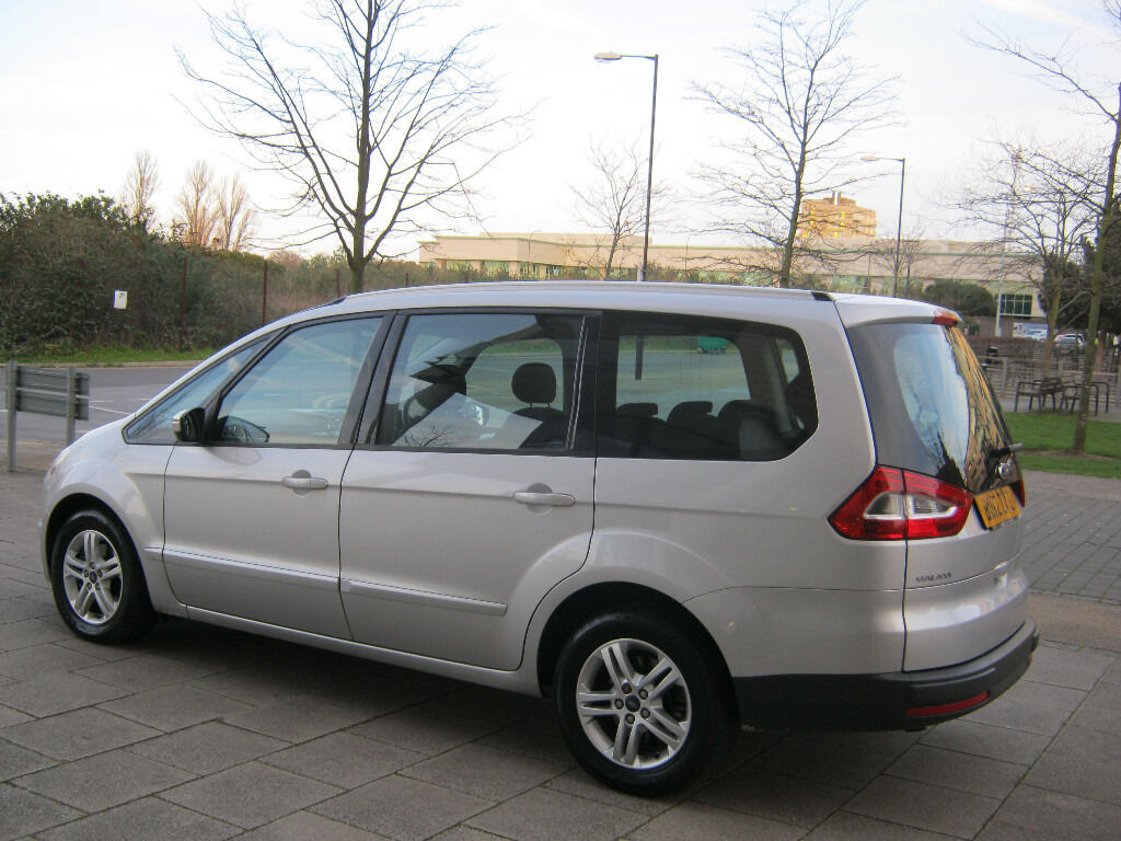 2012 ford galaxy 2 0 tdci diesel automatic 83k silver 2 owner 12 mot