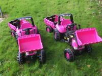 Pink Pedal Tractor/s