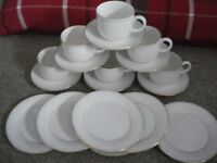 m and s , stmichael lumiere cups and saucers