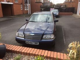Mercedes C200 1994, 89k, every MOT from new