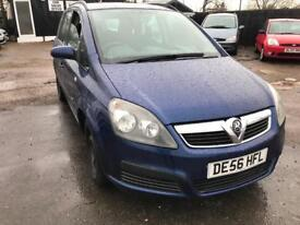 Vauxhall Zafira 1.6 2006 LOW MILAGE 7 SEATER!!