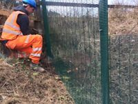 All fencing landscaping works undertaken including commercial , domestic and agriculural