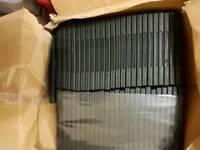 DVD cases (new) x 50