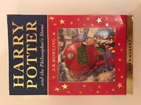 Harry Potter and the Philosophers Stone FIRST EDITION Paperback Book Bloomsbury