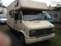 CLASSIC TALBOT EXPRESS 4 BERTH RARE DIESEL 2.5L. 1987 for sale over £1000 spent STILL MORE TO DO