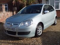 VW Polo BlueMotion Tech 2, Zero Road Tax, 1 Lady Owner From New, Cambelt Done