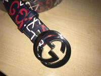 Brand new latest season Gucci designer belt
