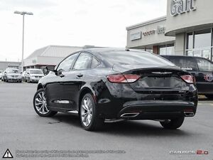 2016 Chrysler 200 | S | X COMPANY DEMO | LEATHER | REMOTE START  Cambridge Kitchener Area image 4