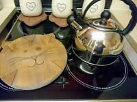 Hand made pine kitchen accessories