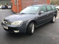 MONDEO 1.8 ESTATE, 11 MONTHS M.O.T. VERY CLEAN CAR INSIDE AND OUT, ROOF BARS.