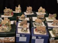15 x Rare and Extremely Rare Boxed Lilliput Lane Cottages and Lilliput lane Houses with DEEDS -
