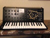 Korg MS-20 synthesizer with mods