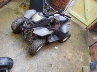 110cc yamaha quad bike for sale  Roundhay, West Yorkshire