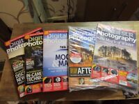 5 digital SLR photography magazines job lot 2015 PLUS JAN 2016