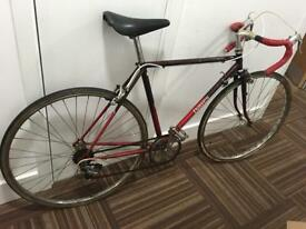 Vintage retro dawes road racing bike