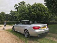2011 60 BMW 3 Series 3.0 330d M Sport 2dr,DIESEL,SAT NAV,CONVERTIBLE