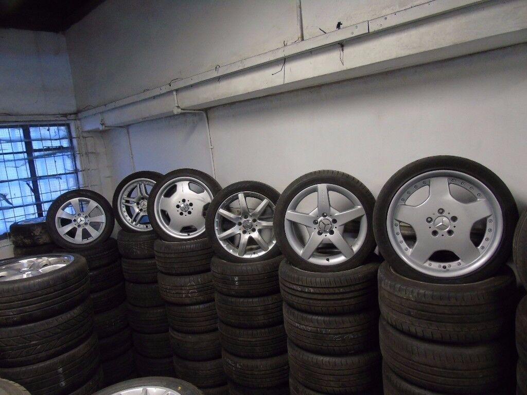 ALLOY WHEELS AUDI BMW CITROEN HONDA FORD VW VAUXHALL MERCEDES ref 6