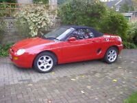 1996 MGF. Classic car in the making.