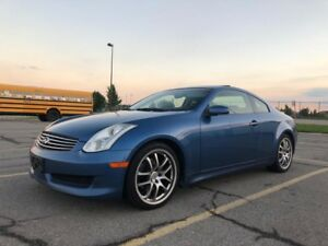 2006 Infiniti G35 Coupe Low kms! Very clean!!
