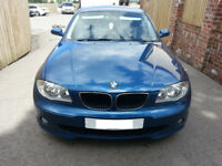 BMW 120d Sport, Auto, MoT Oct 18. May swap for Ford Fiesta, can add cash.