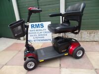 Pride GoGo Elite Traveller Plus Car Boot Scooter. In excellent condition