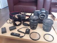 Canon EOS Full Frame Camera + lense and accessories