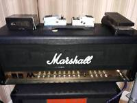 Marshall MA50H 50W Valve Reverb guitar Amp Head (not cab)
