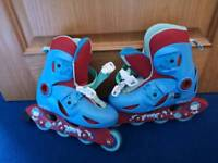 Roller Blades. Extendable. 11.5 - 13