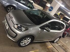 VW UP 2015 3 DOOR SILVER LOW MILAGE SAT NAV