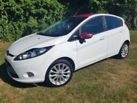 Ford Fiesta 2012 Perl white new shape only 79k Miles diesel 1.4 been fully serviced
