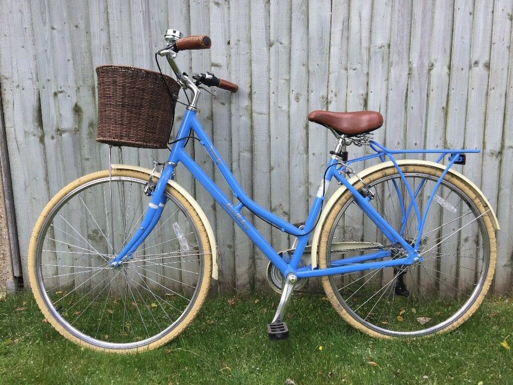Ladies Pendleton Blue Bicycle