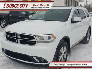 2014 Dodge Durango Limited | AWD | PST PAID - DVD. Nav