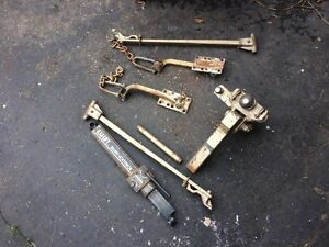 Sway bars and hitch kit