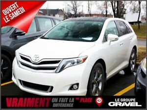 2014 Toyota Venza LIMITED 4WD Gr TECH GPS TOIT PANO CUIR