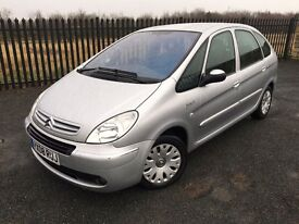 2008 08 CITROEN PICASSO 1.6 DESIRE 6 DOOR M.P.V - ONLY 2 FORMER KEEPERS - AUGUST 2017 M.O.T!