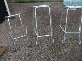 CHOICE OF THREE MOTABILITY LIGHTWEIGHT WALKING FRAMES