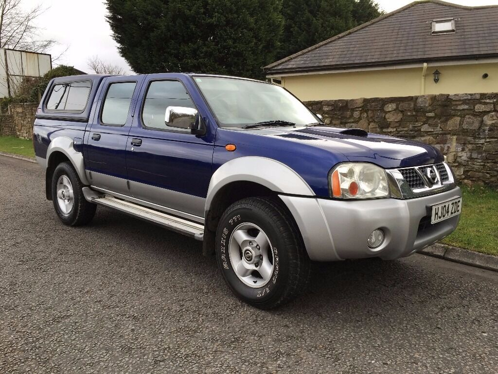 2004 nissan navara 2 5 di 4x4 double cab pickup only 60000 miles no vat in rhondda cynon taf. Black Bedroom Furniture Sets. Home Design Ideas