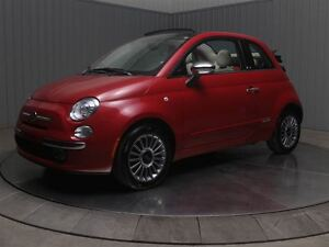 2013 Fiat 500C CONVERTIBLE A/C MAGS CUIR