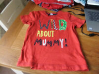 Age 2-3 Year T-Shirts 50P Each