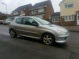 2005 diesel peugeot 206 hdi, 12 months mot 1st to see will buy ,great on fuel ,px options available