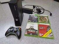 《~ Xbox 360 slim 250gb one controller + 4 games ~》