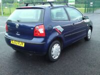 2003 volkswagon polo 1.2